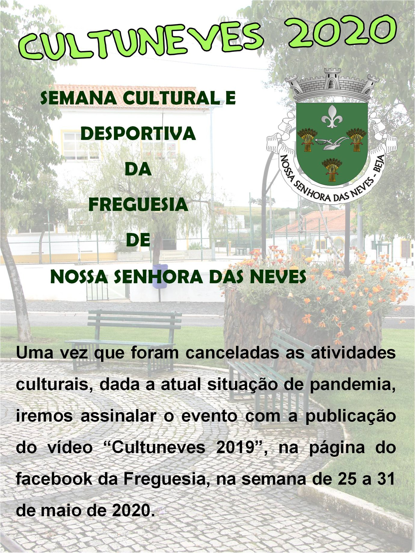 Comunicado Cultuneves 2020